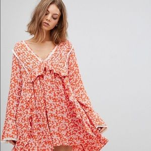 "NWT Free People ""Like You Best"" Mini Dress"